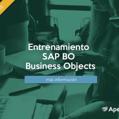 Entrenamiento SAP BO