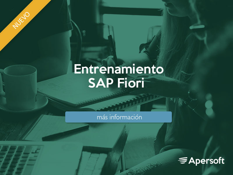 Entrenamiento SAP FIORI User Experience