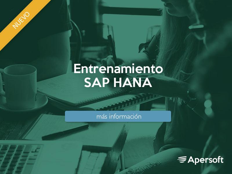 Curso SAP HANA Apersoft