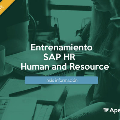 Entrenamiento SAP HR