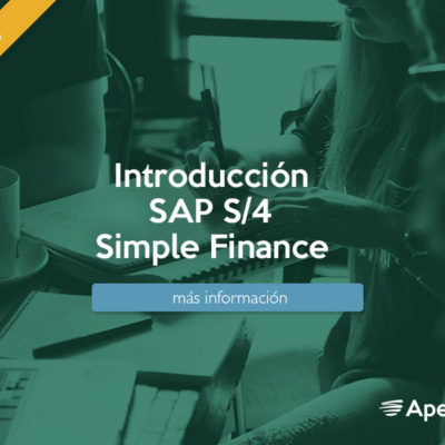 Introducción SAP S/4 Simple Finance