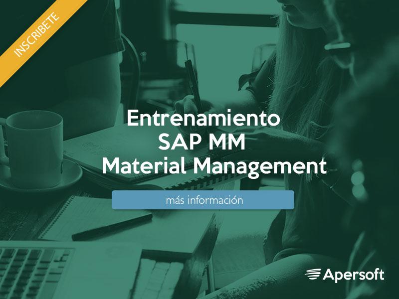 Entrenamiento SAP MM Material Management