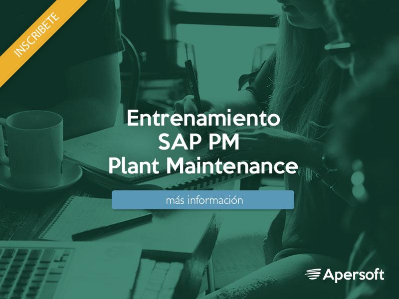 Entrenamiento SAP (PM) Plant Maintenance