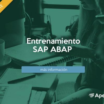Entrenamiento SAP NetWeaver ABAP