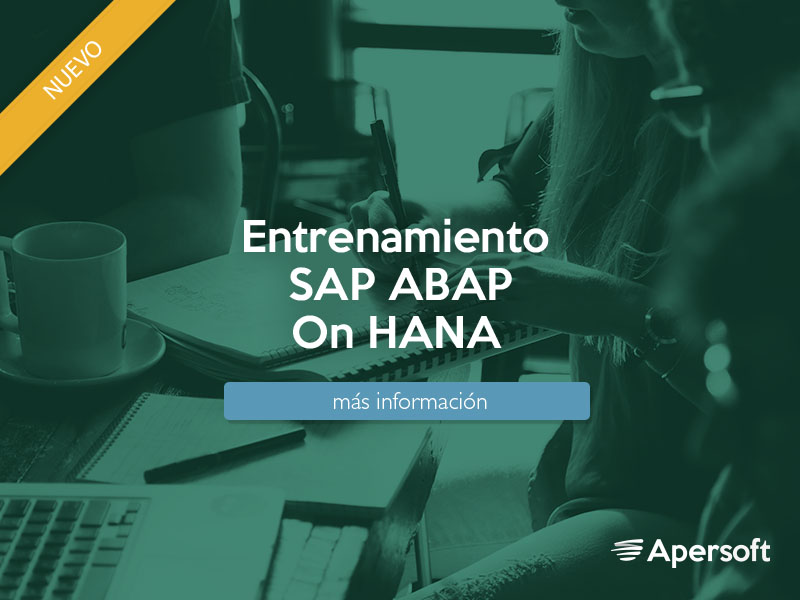 Entrenamiento ABAP for SAP HANA