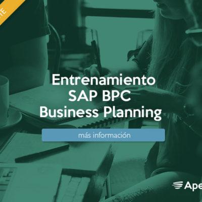 Entrenamiento SAP BPC