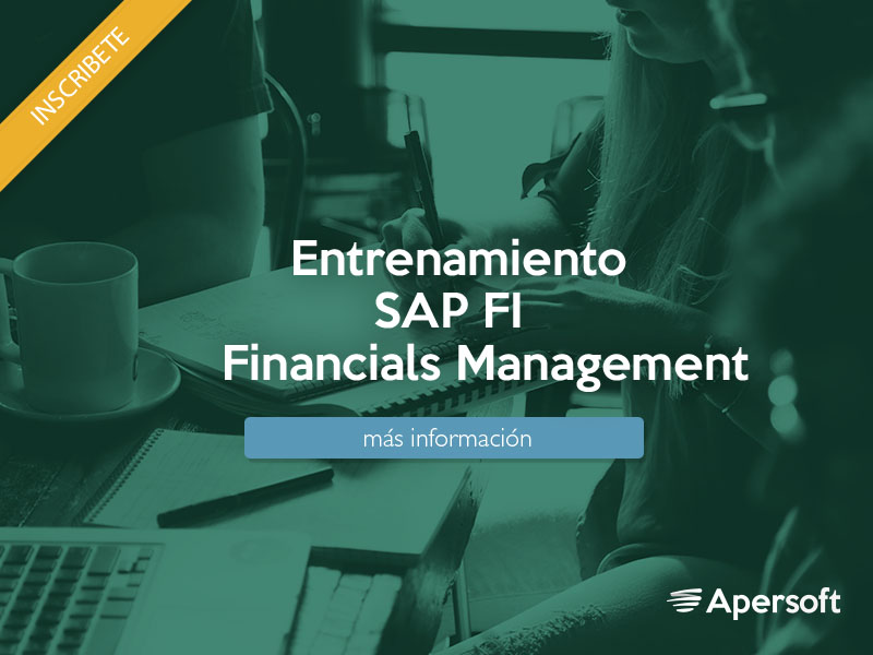 Entrenamiento SAP (FI) Financials Management