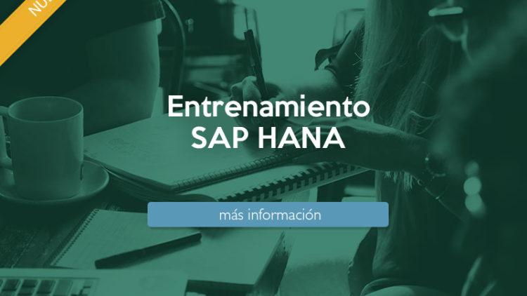 Entrenamiento SAP HANA