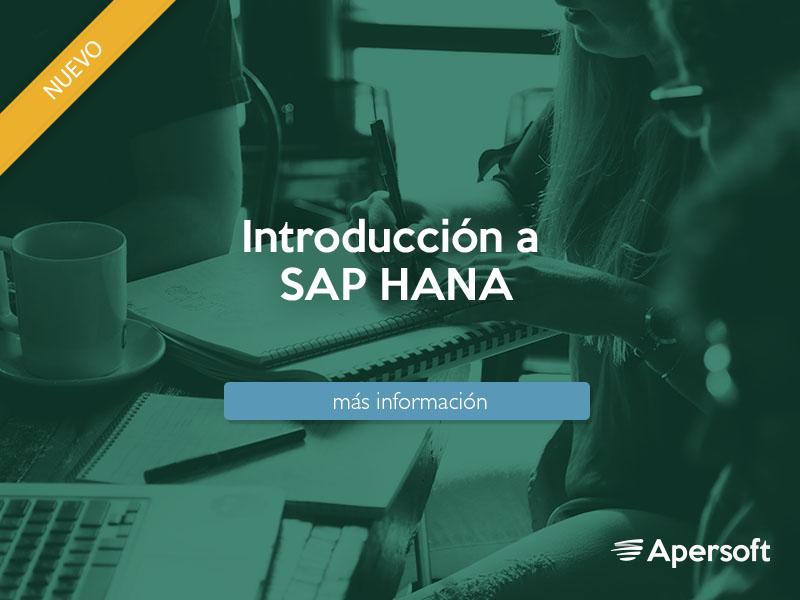 Introducción a SAP HANA