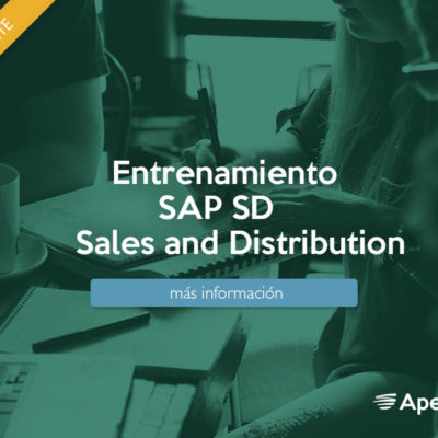 Entrenamiento SAP SD